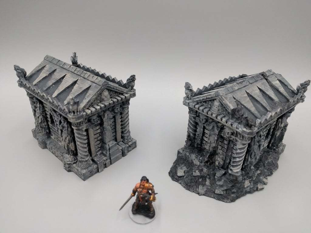 2018-02-13_08.46.35-1.jpg Download free STL file Tomb (Ruined and Intact) - 28mm gaming • Model to 3D print, ec3d