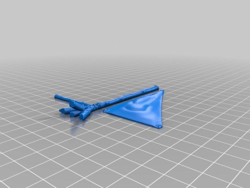 a4960a4686636b1d4b92bb28735da26f.png Télécharger fichier STL gratuit Voile et mât pour radeau - jeu 28mm • Plan à imprimer en 3D, ec3d