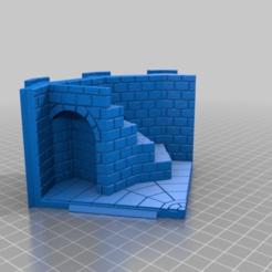 Descargar diseños 3D gratis Torre de 12 lados - paredes de ladrillo y más alta, ec3d