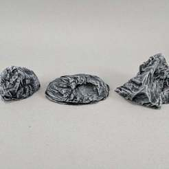 IMG_20171212_091809.jpg Download free STL file Rock Outcroppings Sample • 3D printer design, Curufin