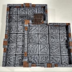 Descargar archivo 3D gratis Juego de muestras de True Tiles [Original y OpenLOCK, Curufin