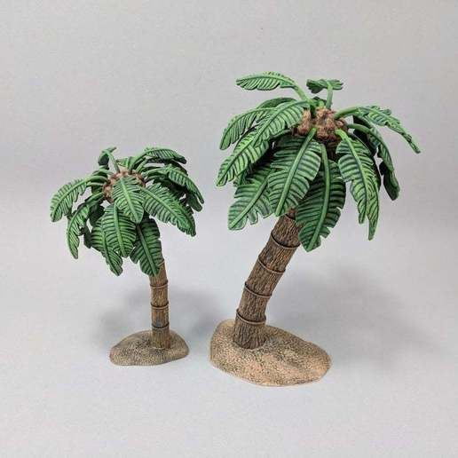 Download free 3D model Palm Tree, Curufin