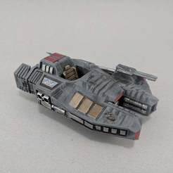 IMG_20200515_092916.jpg Download free STL file Sci-fi Armored Combat Speeder • Object to 3D print, Curufin