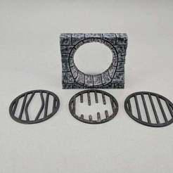 Impresiones 3D gratis Drenaje de alcantarilla de 28mm, Curufin