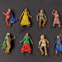 Descargar diseños 3D gratis 28mm Mujeres muertas en el pueblo, Curufin
