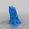 Download free 3D printer model Fallen Tree and Stump, Curufin