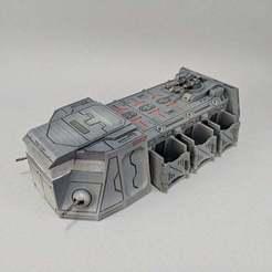 IMG_20180911_093612.jpg Download free STL file Sci-fi Troop Transport • 3D printable design, Curufin