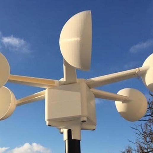 Download 3D printer designs 3D printable Windgenerator, afreedomproject