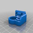 Prusa_Bearing_Mount_LHS.png Download free STL file Z Tops for Prusa MK3S • 3D printer object, TaylorsMake