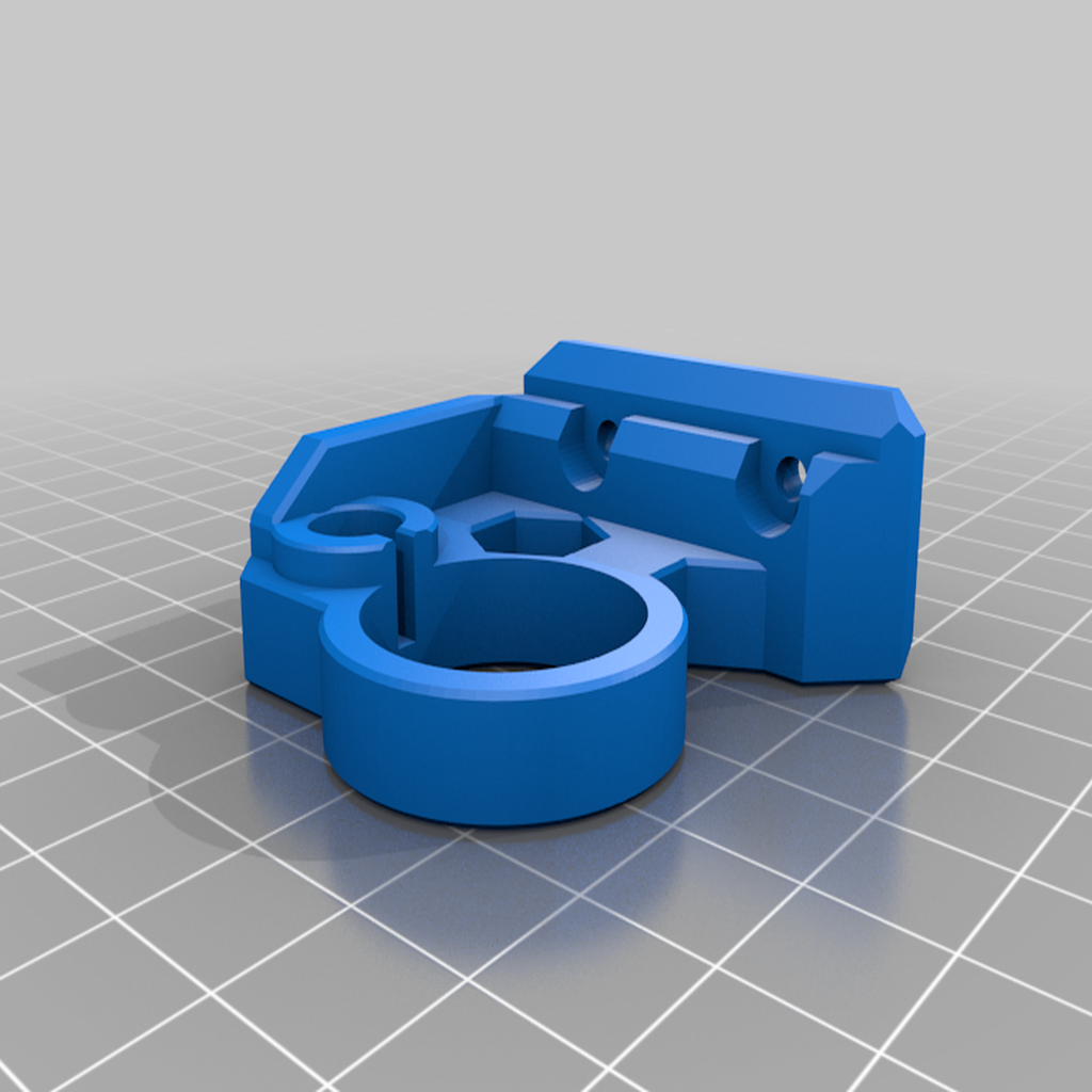 Prusa_Bearing_Mount_v3.png Download free STL file Z Tops for Prusa MK3S • 3D printer object, TaylorsMake