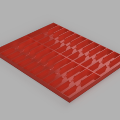 Endmill_tray_2020-Feb-20_01-05-12AM-000_CustomizedView19192330744_png.png Download free STL file CNC End Mill Router Bit Tray • 3D printable template, TaylorsMake