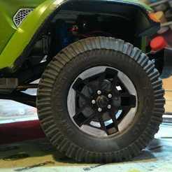 Descargar modelos 3D 1.9 stock jeep jl rim, zingatosto