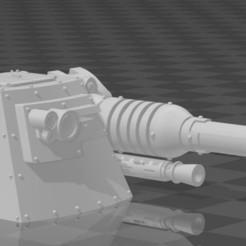 Capture.JPG Download free STL file Admech Hovercar Turret • Template to 3D print, codewalrus