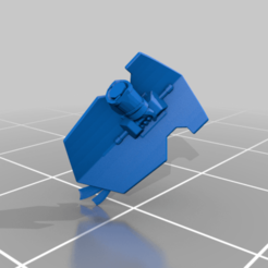 shield.png Download free STL file Inquisitive Heckin' Rex • 3D printable object, codewalrus