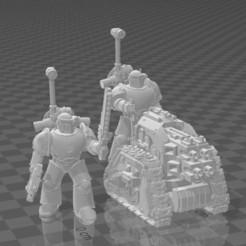 Capture.JPG Descargar archivo STL gratis La tripulación de la Legión de la Plataforma de Espada Larga MK3 • Objeto para imprimir en 3D, codewalrus