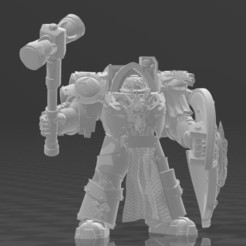 image.JPG Download free STL file FlameDragons Terminators • 3D printer template, codewalrus