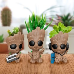 Download 3D printing models Groot Pot, markdeyaboo