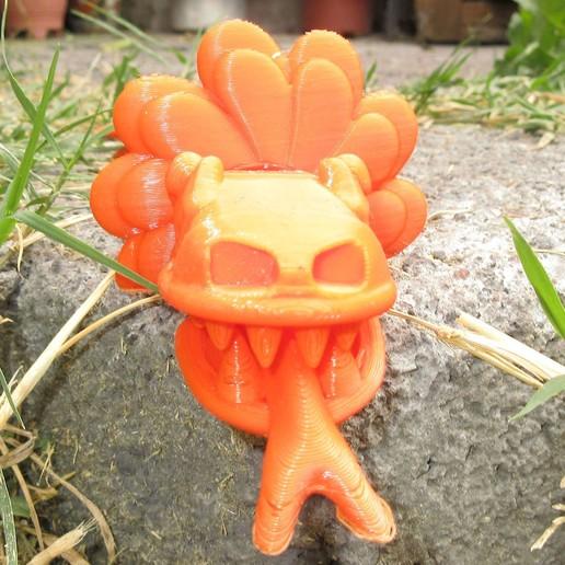 Quetzalcoatl 07.jpg Download free STL file Feathered Snake Quetzalcoatl • Object to 3D print, Markdejavu