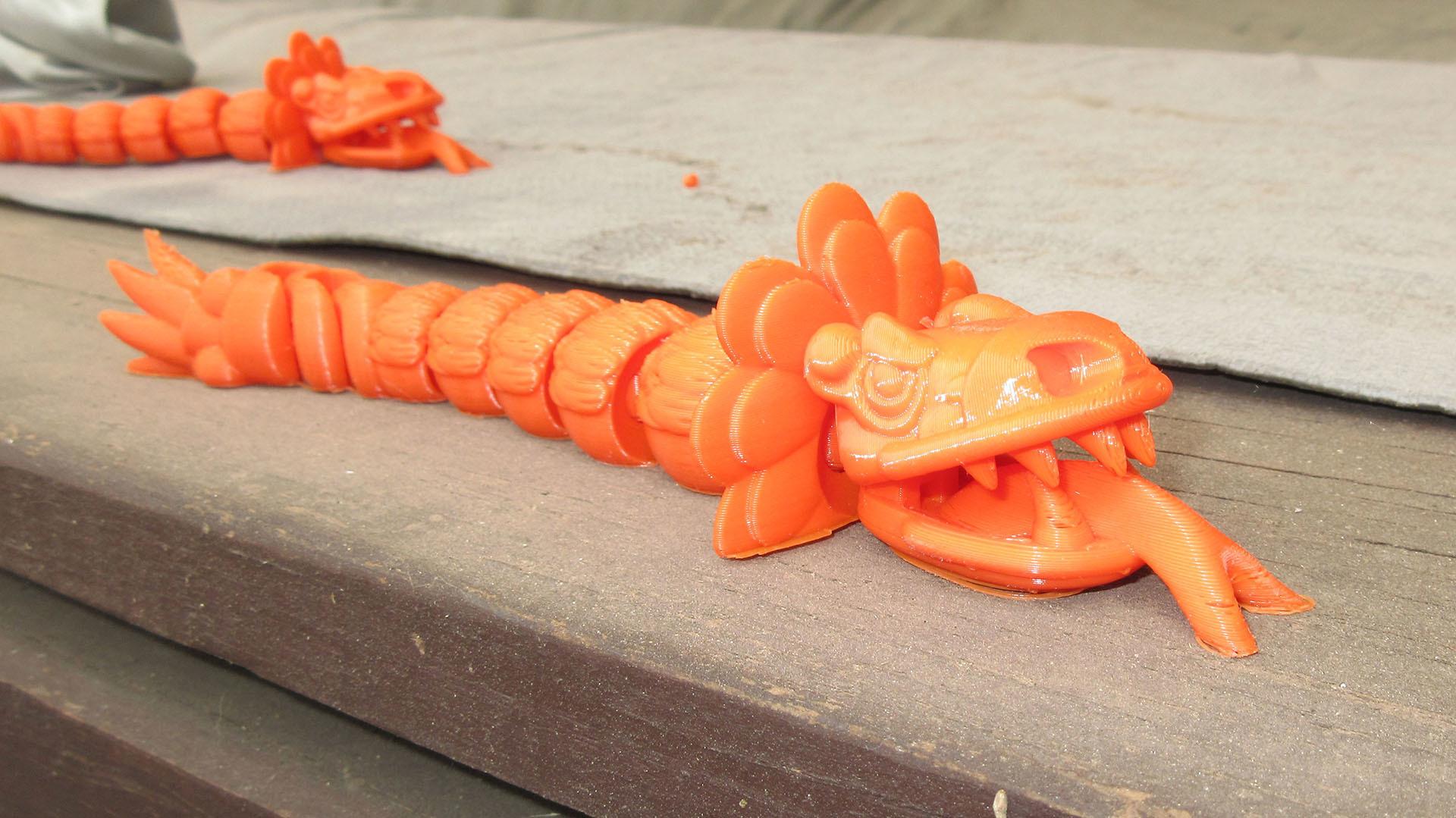 Quetzalcoatl 05.jpg Download free STL file Feathered Snake Quetzalcoatl • Object to 3D print, Markdejavu