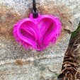 Download free STL files Chaotic Heart Pendant, coolcat4353