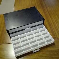 Descargar diseños 3D gratis cajón para el componente electrónico, katraska