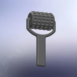 RODILLO SIMPLE.JPG Download free STL file Massage roller • 3D printable template, KATX