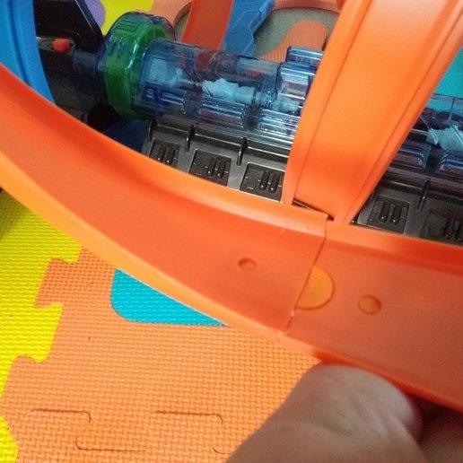 IMG_20200422_120850.jpg Download free STL file Hot wheels connector • 3D printing model, legendredavid27