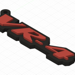 VR-4.png Download free STL file Mitsubishi VR-4 Keychain • 3D printable object, tsndr