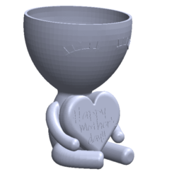 happy mothers day.png Download STL file happy mothers day robert • Model to 3D print, exestevez87