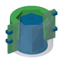 maceta1.png Télécharger fichier STL POT MOULD N01 • Modèle à imprimer en 3D, exestevez87