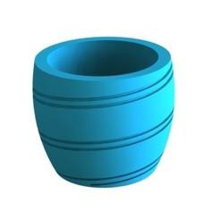 maceta2.JPG Télécharger fichier STL N02 POT, N02 POT À FLEURS, VASE EN FILAMENT • Design pour impression 3D, exestevez87