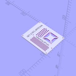 Descargar archivo 3D gratis Frambuesa pi RTL-SDR caso revisión 2, mistrjirka
