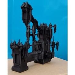 Télécharger modèle 3D Le château de Dracula Low Poly, OffSetEyeBrow