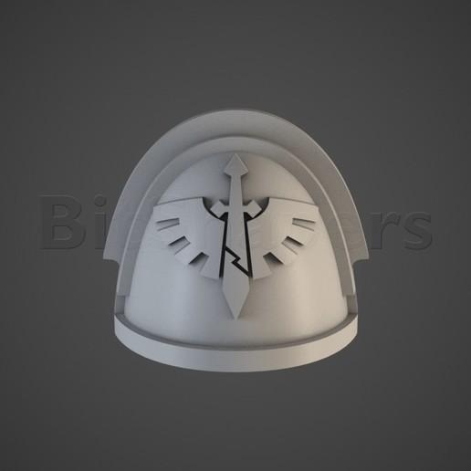 DW.RGB_color.0001.jpg Télécharger fichier OBJ Les épaules des vétérans de la compagnie Angels of Hell • Plan pour imprimante 3D, BitShapers