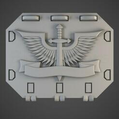 darkangel01.jpg Télécharger fichier OBJ Les anges de l'enfer repoussent les portes de réservoir • Plan pour impression 3D, BitShapers
