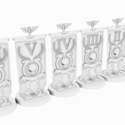 Download 3D printing models Superb Marines 40mm Objectives Marker, sadypisten