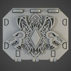 spacewolves_01.jpg Télécharger fichier OBJ Les Vikings interstellaires repoussent les portes de réservoir • Modèle à imprimer en 3D, BitShapers