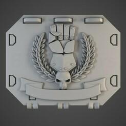 imperial_fist01.jpg Télécharger fichier OBJ Les mains de l'empereur repoussent la porte du réservoir • Objet pour imprimante 3D, BitShapers