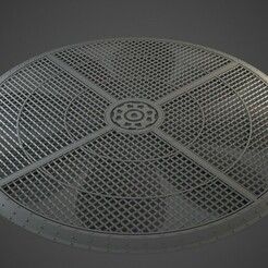 WTC_vent_01.jpg Download OBJ file Industrial Vent Terrain 9 inch • 3D printer object, BitShapers