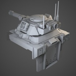 gladiator01.jpg Download OBJ file Murmillo Tank upgrade for Hover Tank. • 3D printable object, BitShapers