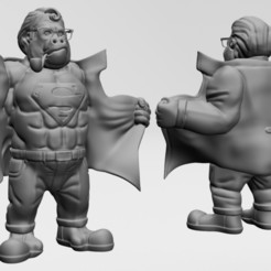 2.jpg Download STL file SUPER KONG - PRINTABLE • 3D printer object, ronnie_yonk