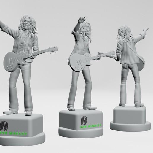 12.jpg Descargar archivo STL Bob Marley - Imprimible en 3D • Objeto imprimible en 3D, ronnie_yonk