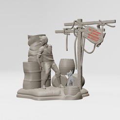 1.jpg Download STL file The Adventures of Tintin - 3D printable • 3D printer design, ronnie_yonk