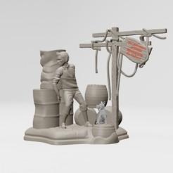1.jpg Télécharger fichier STL Les aventures de Tintin - imprimable en 3D • Plan pour imprimante 3D, ronnie_yonk