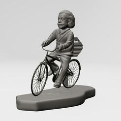 1.jpg Download STL file Albert Einstein - 3D PRINTABLE • 3D printable object, ronnie_yonk
