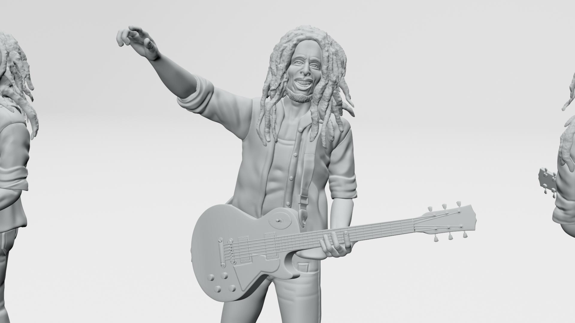 13.jpg Descargar archivo STL Bob Marley - Imprimible en 3D • Objeto imprimible en 3D, ronnie_yonk
