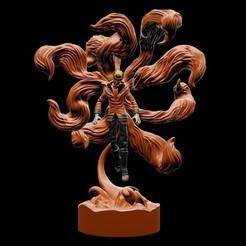 7.jpg Télécharger fichier STL Naruto Uzumaki dernier mode kurama - impression 3d • Plan à imprimer en 3D, ronnie_yonk