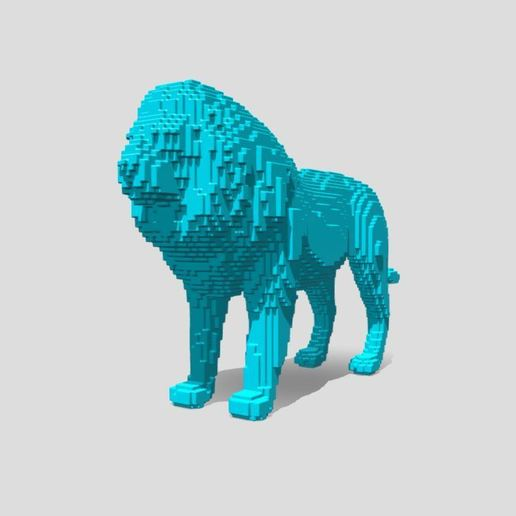 Capture 1.JPG Download free STL file Lion Stl  • 3D printable template, ronnie_yonk