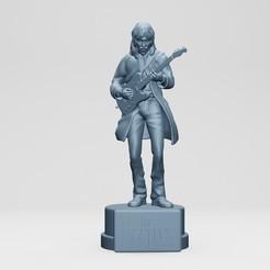 1.jpg Download STL file George harison,the Beatles, rooftop concert • 3D print design, ronnie_yonk