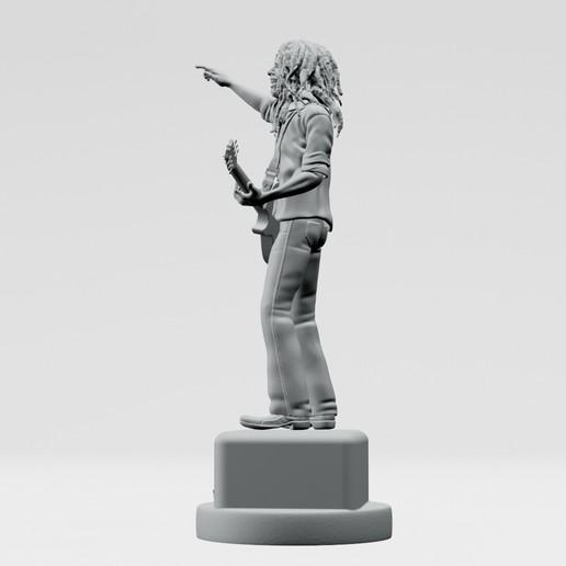15.jpg Descargar archivo STL Bob Marley - Imprimible en 3D • Objeto imprimible en 3D, ronnie_yonk